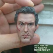 1/6 The Evil Dead Ashley Soldier Head Carving Model Fit 12 Male Figure Body