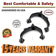 For 1998-2002 Honda Accord Pair Front Upper Control Arms W/ball Joint And Bushings