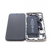 Genuine Apple Iphone 11 A2111 White Housing Digitizer Lcd And Battery Assembly
