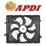 Apdi Dual Radiator And Condenser Fan Assembly For 2011-2013 Jeep Grand Mw