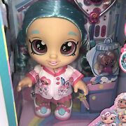 Kindi Kids Fun Time Friends Doll - Cindy Pops Doctor And Accessories Sparkle Eyes.