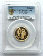 South Africa 1997 Culture 2 Rand Pcgs Pr69 Gold Coinproof