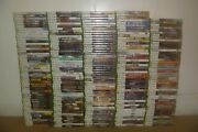 Microsoft Xbox 360 Games You Choose From Large Selection With Cases
