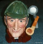 Royal Doulton The Sleuth Character Toby Jug D6631 Collectible Detective Gift