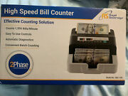 Royal Sovereign Back-load High Speed Bill Counter Rbc-100