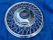 15 Buick Wire Spoke Hubcap Wheelcover 1 Perfect 1989-93 H1129 P01644549