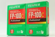 [ New 2 Packs ] Fuji Fp-100c Instant Color Film Expired 06/2011 From Japan
