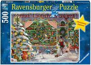 Ravensburger The Christmas Shop 500 Piece Jigsaw Puzzle For Adults - Every...