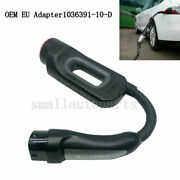 Genuine Chademo Adapter Charger Eu 1036391-10-d For Tesla Model S And Model X