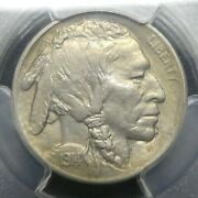 1914 S 5c Buffalo Nickel Five Cents Certified Pcgs Ms63 Us Mint Coin