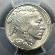 1917 S 5c Buffalo Nickel Five Cents Certified Pcgs Ms62 Us Mint Coin