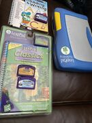 Leap Frog Leappad Plus Writing Learning System | 2 Books And 2 Cartridges + 2 Extr
