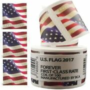 1000 Usps Forever Stamps 10 Coils Of 2017 America Flag Postage Stamps Us Seller
