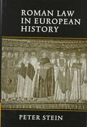 Roman Law In European History Hardcover By Stein Peter Brand New Free Shi...