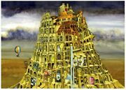 [ Puzzle Life ] Tower Of Babel | 1000 Piece - Free Logic Games For Couples,...
