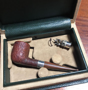 Dunhill Pipes 1998 Christmas Limited Model With A Special Box Vintage Rare