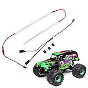 Rc 24-leds Lamp Beads Strip Light Bar For Losi Lmt 4wd Solid Axle Monster Trucks
