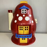 Matchbox House Toy Mushroom 1988 Retro Vintage 80s Dolls Play Red No Accessories