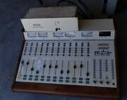 Radio Systems Millenium Rs-12a 12-ch Broadcast Studio Audio Console Mixer And P/s