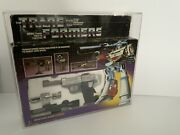 Megatron Transformers G1 Vintage Complete With Original Box And Acrylic Case