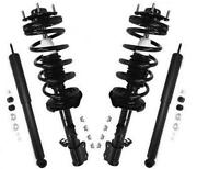 Fits 2001-2008 Ford Escape 2 Front Quick Spring Strut And Mount And Rear Shocks