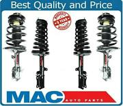 Front And Rear Complete Strut With Coil Springs Fits 97-01 Es300 97-01 Camry