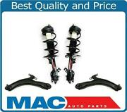 F Coil Spring Strut And Control Arms Bushings Ball Joint For 08-12 Rogue Awd 4pc
