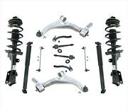 Front Struts And Shocks Control Arms Tie Rods Front Links For Honda Pilot 09-15