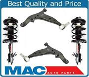 Front Struts And Lower Control Arms W Ball Joints For Nissan Quest 2004-2009