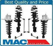 Front And Rear Complete Strut Assembly And Sway Bar Links Fits Volvo V70 Xc Xc70