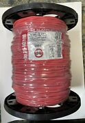 1000 Ft Fire Alarm Cable 14 Awg 2c Solid Fplp Unshielded 315-142/p/rd Red Wire