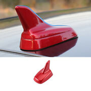 Shark Fin Antenna Receiver Cover Trim 1pcs Red Fit For Mazda 3 Axela 2020-2021