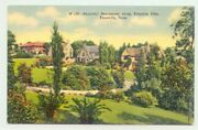 Knoxville, Tennessee Tn Homes In Kingston Pike 1940s