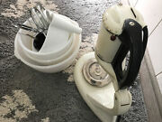 Rare Vintage General Electric Ge Triple 3 Beater Stand Mixer Triple Whip