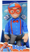 My Buddy Blippi Deluxe Talking 16 Plush Doll Toy 15 Sounds And Phrases - New