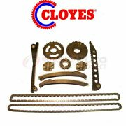 Cloyes Front Engine Timing Chain Kit For 1997-2001 Ford E-350 Econoline Club Rr