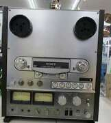 Sony Open Reel Deck Model Tc-r6 Tape Recorder Maintained Used Vintage From Japan