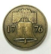 History Channel Club 1776 Liberty Bell Token Coin