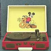 Crosley Record Player Cr8005a-ds Built-in Stereo Speakers Vintage From Japan