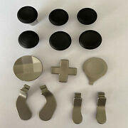 Cross Key Button Set Thumbsticks Grips For Xbox One Elite 2 Game Controllers