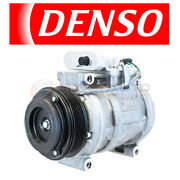 Denso 471-0335 Ac Compressor And Clutch For 10243781 10263019 15-20108 2641 Sh