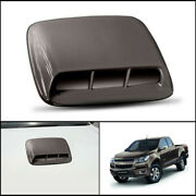 Brown Front Bonnet Hood Scoop Trim Cover For Chevrolet Chevy Colorado 2012-2016