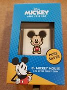 Chibi Coins Niue 2021 And039micky Mouseand039 2 Dollar Silver Coin