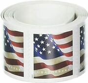 500 Pcs Usps Forever Stamps 5 Coils Of 2017 America Flag Postage Stamps