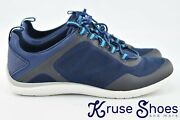 Lands End Womens Blue Water Shoes New Size 8b