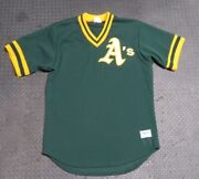 1987 Dennis Eckersley Oakland A's Game Used Worn Bp Baseball Jersey Signed Mlb