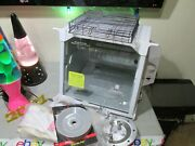 Nice White Ronco Showtime 4000 Rotisserie And Bbq Needs Spit Rods/end Freeship