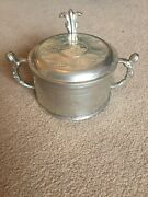 Norwegian Reproduction Pewter Butter Tureen.copy Of A Tureen Made By Nils Nyberg