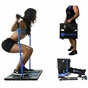Bodyboss Home Gym 2.0 - Full Portable Gym Home Workout Package .