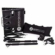Bodyboss Home Gym 2.0 - Full Portable Gym Home Workout Package + 1 Set Of